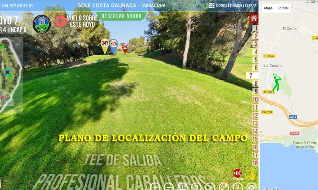 Plano de localización del campo