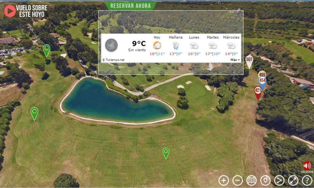Recorrido Virtual 360° Campos de Golf
