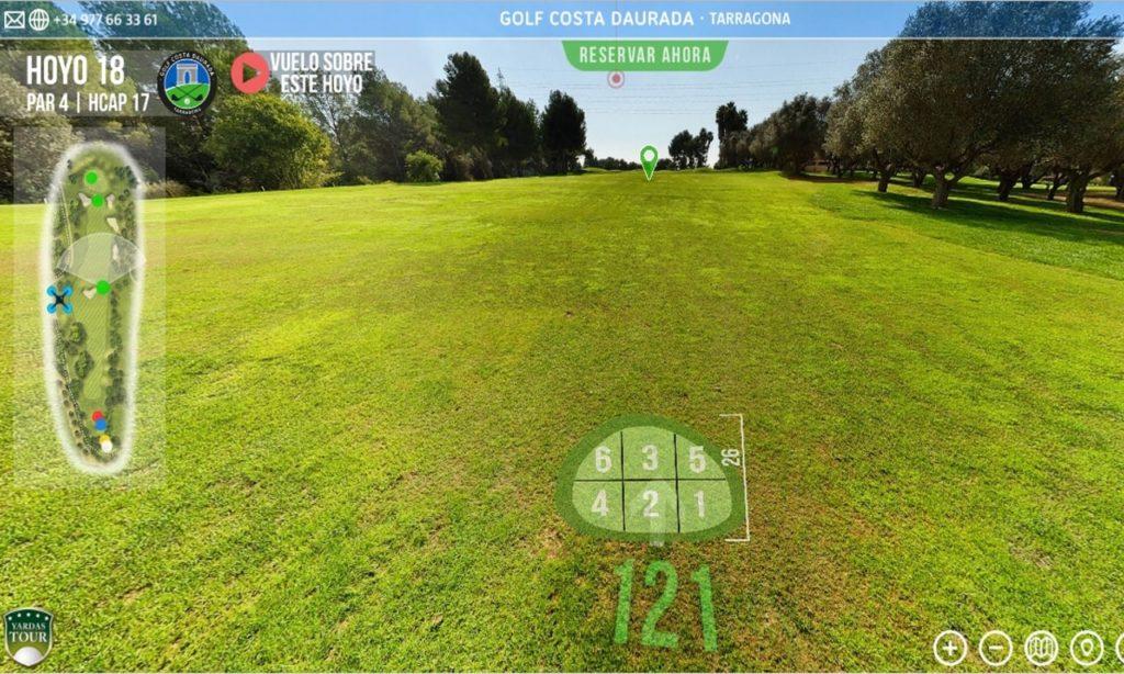 Golf Tour Virtual 360° Yardas Tour